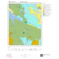 K39d1 Paftası 1/25.000 Ölçekli Vektör Jeoloji Haritası