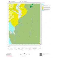 K39d2 Paftası 1/25.000 Ölçekli Vektör Jeoloji Haritası