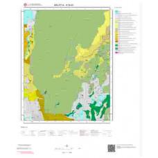 K39d3 Paftası 1/25.000 Ölçekli Vektör Jeoloji Haritası