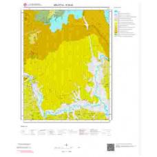 K39d4 Paftası 1/25.000 Ölçekli Vektör Jeoloji Haritası