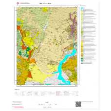 K40 Paftası 1/100.000 Ölçekli Vektör Jeoloji Haritası