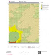 K40a1 Paftası 1/25.000 Ölçekli Vektör Jeoloji Haritası