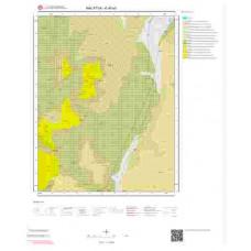 K40a3 Paftası 1/25.000 Ölçekli Vektör Jeoloji Haritası