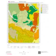 K40d1 Paftası 1/25.000 Ölçekli Vektör Jeoloji Haritası