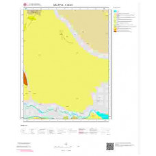 K40d3 Paftası 1/25.000 Ölçekli Vektör Jeoloji Haritası