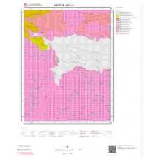 K41c4 Paftası 1/25.000 Ölçekli Vektör Jeoloji Haritası