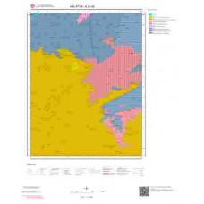 K41d2 Paftası 1/25.000 Ölçekli Vektör Jeoloji Haritası