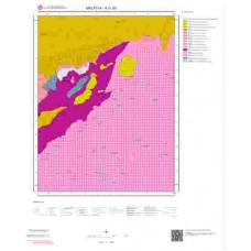 K41d3 Paftası 1/25.000 Ölçekli Vektör Jeoloji Haritası