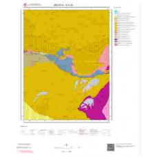 K41d4 Paftası 1/25.000 Ölçekli Vektör Jeoloji Haritası