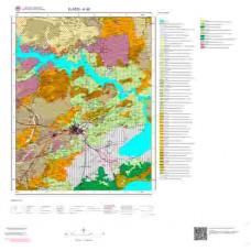 K42 Paftası 1/100.000 Ölçekli Vektör Jeoloji Haritası