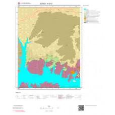K42a1 Paftası 1/25.000 Ölçekli Vektör Jeoloji Haritası