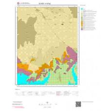 K42a2 Paftası 1/25.000 Ölçekli Vektör Jeoloji Haritası