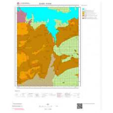 K42a3 Paftası 1/25.000 Ölçekli Vektör Jeoloji Haritası