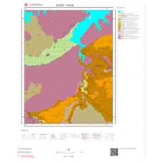 K42a4 Paftası 1/25.000 Ölçekli Vektör Jeoloji Haritası