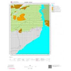 K42c2 Paftası 1/25.000 Ölçekli Vektör Jeoloji Haritası