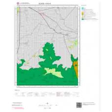 K42c4 Paftası 1/25.000 Ölçekli Vektör Jeoloji Haritası