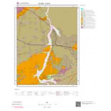 K42d1 Paftası 1/25.000 Ölçekli Vektör Jeoloji Haritası