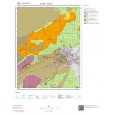 K42d2 Paftası 1/25.000 Ölçekli Vektör Jeoloji Haritası