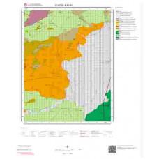 K42d3 Paftası 1/25.000 Ölçekli Vektör Jeoloji Haritası