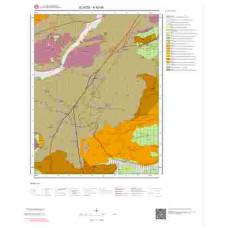 K42d4 Paftası 1/25.000 Ölçekli Vektör Jeoloji Haritası