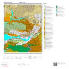 K43 Paftası 1/100.000 Ölçekli Vektör Jeoloji Haritası