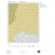 K43b2 Paftası 1/25.000 Ölçekli Vektör Jeoloji Haritası