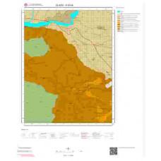 K43b4 Paftası 1/25.000 Ölçekli Vektör Jeoloji Haritası