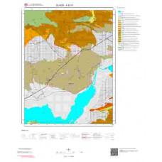 K43c1 Paftası 1/25.000 Ölçekli Vektör Jeoloji Haritası