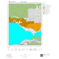 K43d1 Paftası 1/25.000 Ölçekli Vektör Jeoloji Haritası