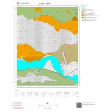 K43d2 Paftası 1/25.000 Ölçekli Vektör Jeoloji Haritası