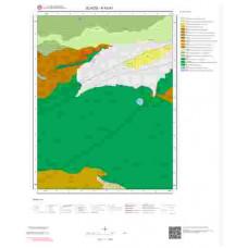 K43d3 Paftası 1/25.000 Ölçekli Vektör Jeoloji Haritası