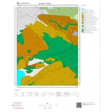 K43d4 Paftası 1/25.000 Ölçekli Vektör Jeoloji Haritası
