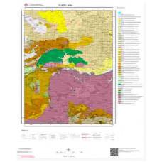 K44 Paftası 1/100.000 Ölçekli Vektör Jeoloji Haritası