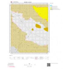 K44a1 Paftası 1/25.000 Ölçekli Vektör Jeoloji Haritası