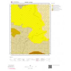 K44a2 Paftası 1/25.000 Ölçekli Vektör Jeoloji Haritası