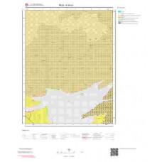 K45a1 Paftası 1/25.000 Ölçekli Vektör Jeoloji Haritası