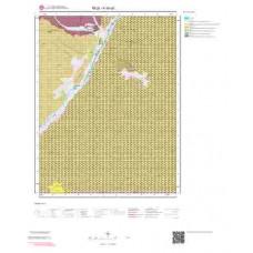 K45a2 Paftası 1/25.000 Ölçekli Vektör Jeoloji Haritası