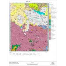 K46 Paftası 1/100.000 Ölçekli Vektör Jeoloji Haritası
