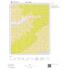 K46a1 Paftası 1/25.000 Ölçekli Vektör Jeoloji Haritası