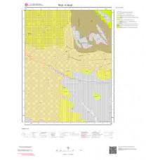 K46a2 Paftası 1/25.000 Ölçekli Vektör Jeoloji Haritası