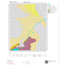 K46a3 Paftası 1/25.000 Ölçekli Vektör Jeoloji Haritası
