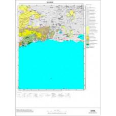 K49 Paftası 1/100.000 Ölçekli Vektör Jeoloji Haritası