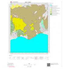 K49a3 Paftası 1/25.000 Ölçekli Vektör Jeoloji Haritası