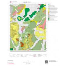 K 52-a1 Paftası 1/25.000 ölçekli Jeoloji Haritası