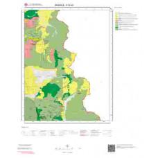 K52a2 Paftası 1/25.000 Ölçekli Vektör Jeoloji Haritası