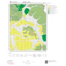 K52a3 Paftası 1/25.000 Ölçekli Vektör Jeoloji Haritası