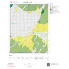 K 52-a4 Paftası 1/25.000 ölçekli Jeoloji Haritası