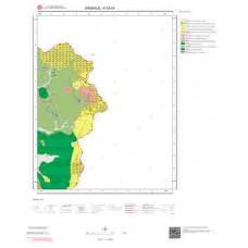 K52b4 Paftası 1/25.000 Ölçekli Vektör Jeoloji Haritası