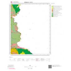 K 52-c1 Paftası 1/25.000 ölçekli Jeoloji Haritası