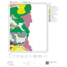 K 52-c4 Paftası 1/25.000 ölçekli Jeoloji Haritası